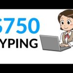 Earn $750 in 1 Hour JUST BY TYPING! (Make Money Online)