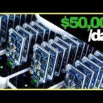 🔴Mining $50,000/day in Bitcoin. – BTC News