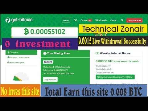 Get bitcoin org Mining Site 2020 REAL OR SCAM Live Withdraw Proof 2020 Urdu hanidi