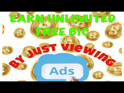 Earn UNLIMITED BITCOIN EVERYDAY! How to earn free BTC by just viewing ads?