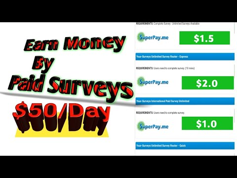 How To Earn Money Online | Earn Money By Paid Surveys And Offers wall 2020