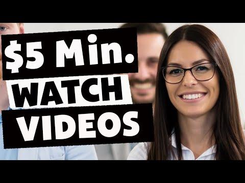 Earn $5 Per Min Watching Videos (Easy Make Money Online)