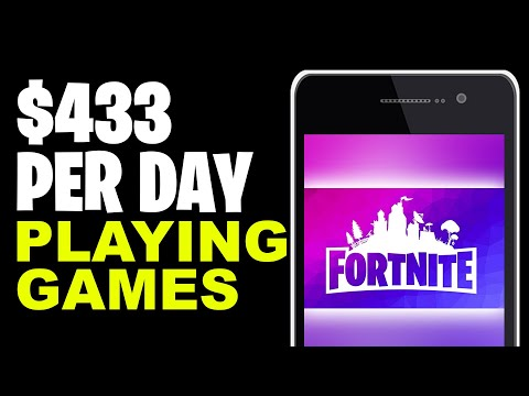 Earn $433 Per Day PLAYING NEW GAMES (Make Money Online)