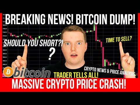 BREAKING NEWS: MASSIVE BITCOIN DUMP! Should YOU Short? ETHEREUM PRICE PREDICTION! Trader Tells All!