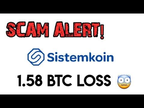 SISTEMKOIN EXCHANGE SCAM ALERT | Bitcoin Scam 2020