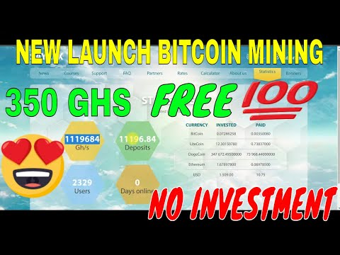 NEW  LAUNCH BITCOIN MINING 350 GHS FREE || NO INVESTMENTS || EASY AND SIMPLE ONLINE JOBS IN TAMIL