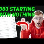 How I Made My First $7000 Online | How To Make Money Online With No Money