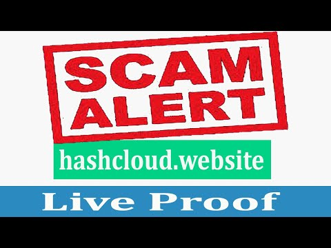 Hashcloud.website Scam | New Free Bitcoin Cloud Mining Site 2020 | Live Proof