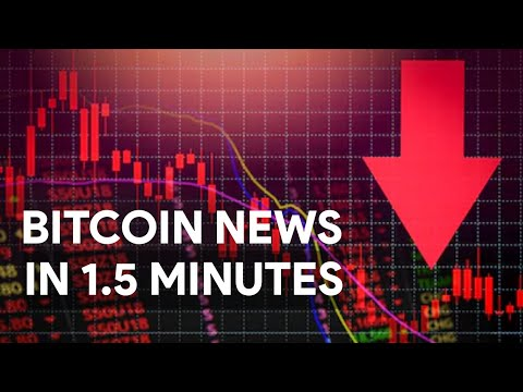 BITCOIN BREAKING OUT NEWS | FALLS
