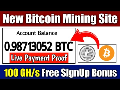 New Bitcoin Mining Site 2020 & LiteCoin Mining Site | Live Payment Proof