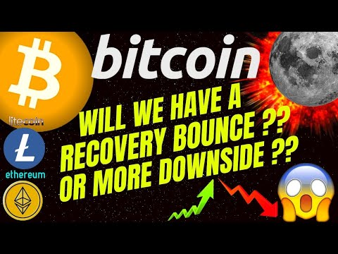 MORE DOWNSIDE??? OR RELIEF BOUNS IN BITCOIN LITECOIN and ETHEREUM?? crypto, analysis, news, trading,