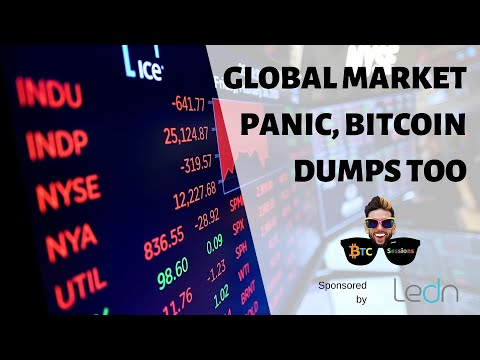 Global Market Panic | PlusToken Scammers Dumping Bitcoin | Difficulty Increase As Halving Looms