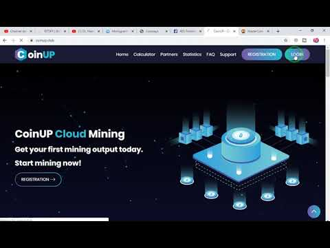 CoinUP Live Payment Proof | Scam Or Legit | New Bitcoin Cloud Mining 2020