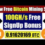 New Free Bitcoin mining site 2020 – 100 GH/s Free SignUp Bonus by fastorme.com