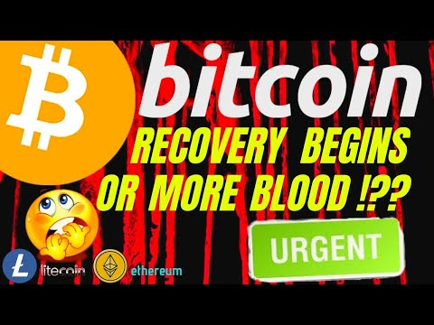 URGENT!!! BITCOIN LITECOIN and ETHEREUM RECOVERY OR MORE BLOOD !? price, analysis, news, trading
