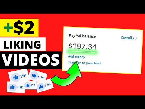 Get Paid To Like Videos ($1.97 Each - Make Money Online)