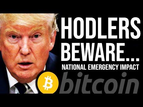 TRUMP NATIONAL EMERGENCY!! Bitcoin HODLers Beware, MakerDAO collapsing?