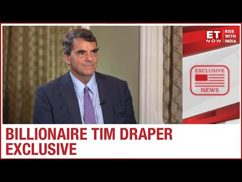 Billionaire Tim Draper on Bitcoins, artificial intelligence & more   ET NOW Exclusive