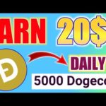 New Mining Website 2020 | Earn Money online 2020 – Earn Daily 5000 Dogecoin Without investment