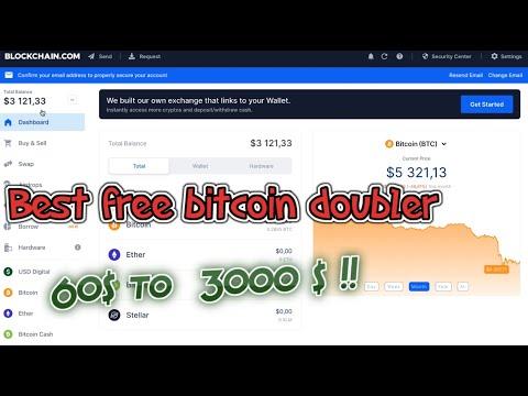 Doubler your btc with blockchain Bitcoin Mining