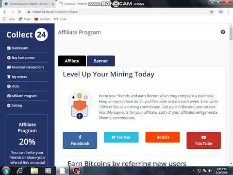 Collect24.cloud | Free Bitcoin Mining website LEGIT or SCAM Proof 100%  | Collect24.cloud|
