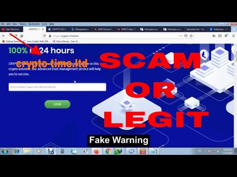 Crypto-time.ltd Scam Or Legit   New Double Bitcoin Site 2020   Double Your Bitcoin In 24 Hours