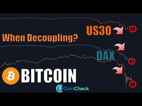 (Wann) ENTKOPPELT sich BITCOIN vom Stock-Market? Zentralbanken ohne Einfluss! Krypto News Deutsch