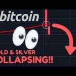 OOH NOO!! BITCOIN CRASHING BELOW 200-WEEK MA!! FIRST TIME EVER!! | Gold & Silver FALLING!!