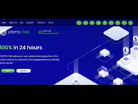 Crypto-time New Double Bitcoin Mining Sites100% After 24 Hours legit Sites