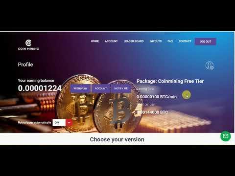 Coinmining website Hack script Free Mining Bitcoin 2020 720p