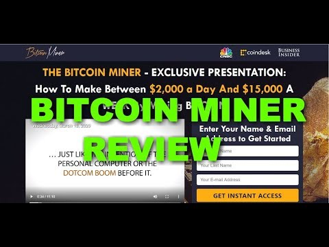 Bitcoin Miner Review, Is Bitcoin Miner Scam or Legit?