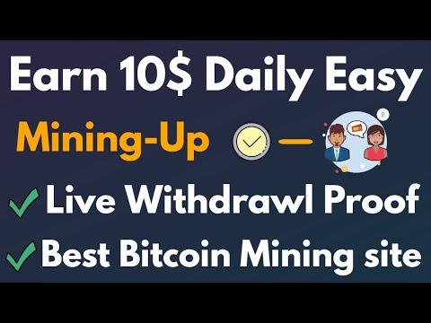 Top Free Bitcoin Cloud Mining Site Mining-Up Live Withdrawl Proof - Get Free 50 GH/s Bonus