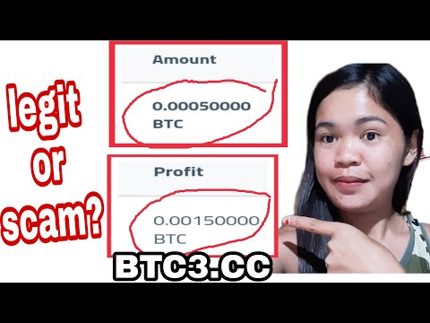 This BTC3.cc makes your Bitcoin 3x is it Legit or Scam??