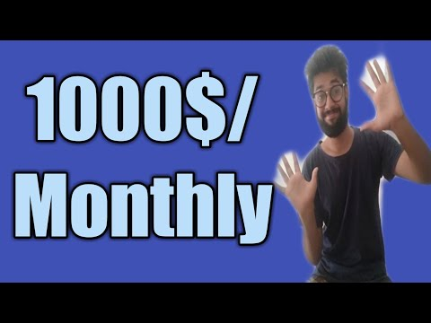 Make money online 2020 easy way to earn 1000$ Monthly