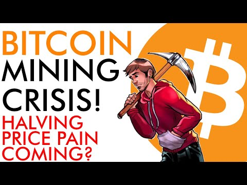 Bitcoin Mining Crisis Explained - Halving Price Pain Coming?