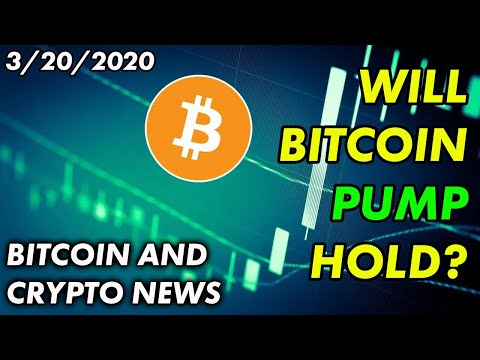 Will Bitcoin Pump Hold?   Bitcoin and Cryptocurrency News