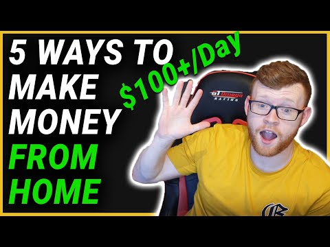 HOW TO MAKE $100+/DAY WORKING FROM HOME | MAKE MONEY ONLINE 2020