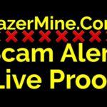 RazerMine.Com Scam Alert Live Proof