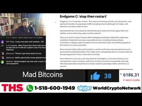 Saturday Morning #LIVE Call-In Show - Bitcoin, News, Coronavirus, Life, the Universe & Everything