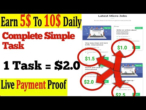 Earn Money Online New Microjobs Earning Site | Earn $100 Daily 2020