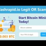 Hashrapid.io New Free Bitcoin Cloud Mining Site Legit Or Scam Live Withdrawal Payment Proof 2020