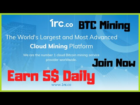 Free Bitcoin Mining Site   Earn 5$ Daily   1rc.co   Full Review