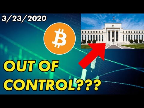 Is the FED Out of Control?   Bitcoin and Cryptocurrency News