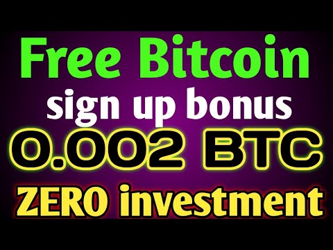 Free Bitcoin Mining site 2020 | sign up bonus 0.002 BTC