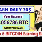 Biggest 5 Bitcoin Mining Site 2020-New Bitcoin Earning Site | New Earning Site 2020
