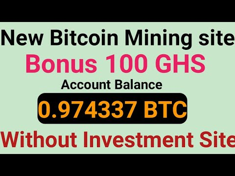 New Free Bitcoin Mining Sites 2020 | 0.004 BTC Earn Without Investment | Best Free Cloud Mining Site