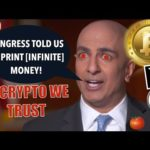 INFINITE QE IS HERE! BITCOIN & CRYPTO EXPLOSION? CZ Binance, Mike Novagratz & WillyWoo REVELATIONS