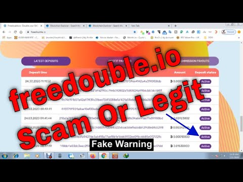 freedouble.io Scam Or Legit | Payment Proof | Bitcoin Doubler Site | Trusted Bitcoin Investment 2020