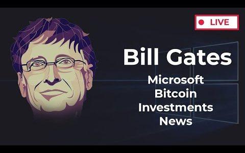🔴 Bill Gates Live | Microsoft, Bitcoin Crash, Anti-Bearish Coalition, Investments, Business, NEWS