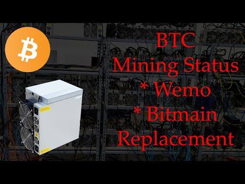 Bitcoin Mining Update - Wemo, Miner Control, GPU Rig Control, Bitmain Replacement
